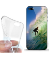 Custom flexible Apple iPhone 5 soft Cases