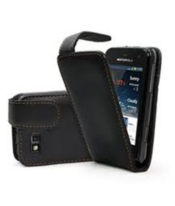 Personalised flip cover case for the Motorola Defy