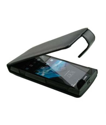 Personalised flip cover case for the Sony Xperia ion