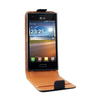 Personalised flip cover case for the LG Optimus L5