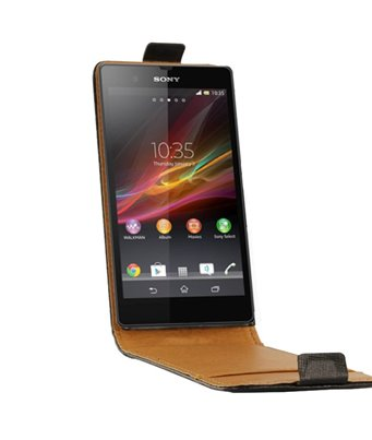 Personalised flip cover case for the Sony Xperia Z