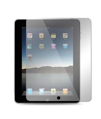 Invisible deluxe screen protector film for the Apple iPad 2