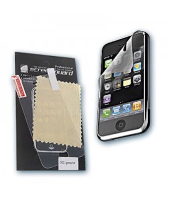 Invisible deluxe screen protector film for the Apple iPhone 3G