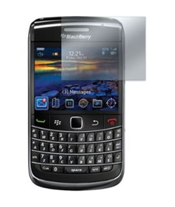 Invisible deluxe screen protector film for the BlackBerry bold 9700