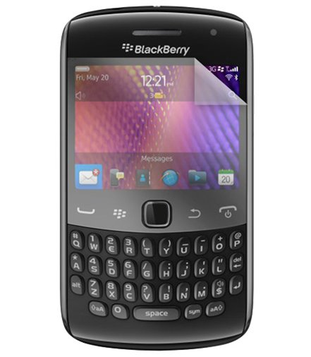 Invisible deluxe screen protector film for the BlackBerry curve 9360