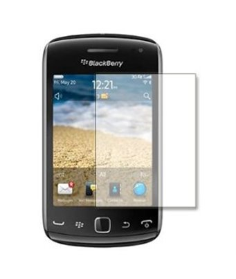 Invisible deluxe screen protector film for the BlackBerry curve 9380