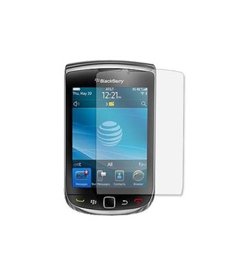 Invisible deluxe screen protector film for the BlackBerry torch 9800