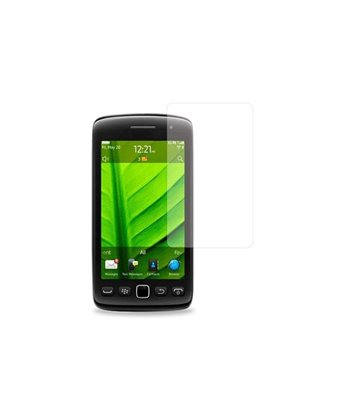 Invisible deluxe screen protector film for the BlackBerry torch 9860