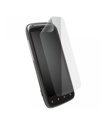 Invisible deluxe screen protector film for the HTC Sensation