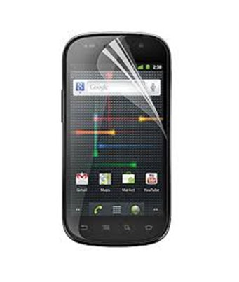 Invisible deluxe screen protector film for the Samsung Google Nexus S