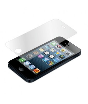 Invisible deluxe screen protector film for the Apple iPhone 5