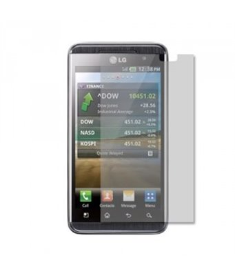 Invisible deluxe screen protector film for the LG optimus 3d P920