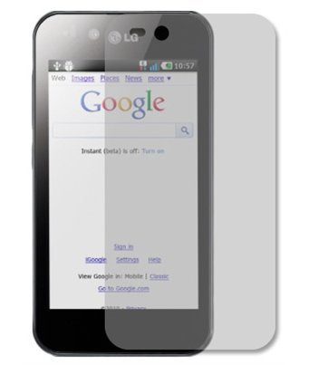 Invisible deluxe screen protector film for the LG optimus black P970