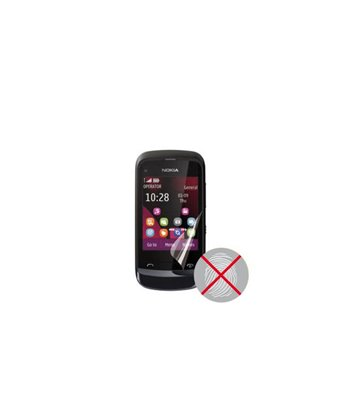 Invisible deluxe screen protector film for the Nokia c2-02