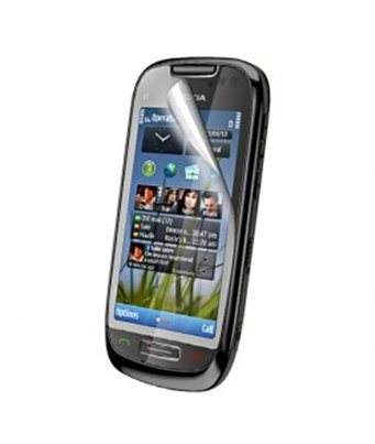 Invisible deluxe screen protector film for the Nokia C7