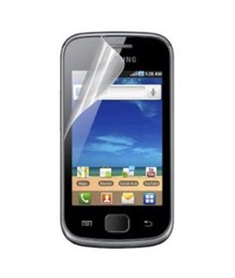 Invisible deluxe screen protector film for the Samsung Galaxy Gio