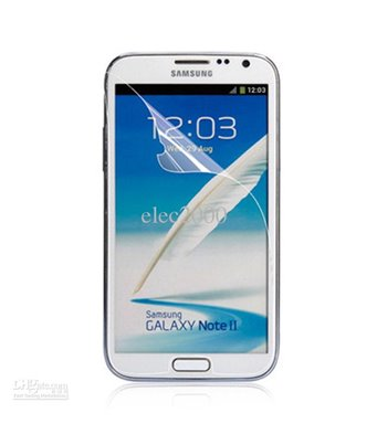 Invisible deluxe screen protector film for the Samsung Galaxy note 2