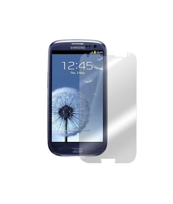 Invisible deluxe screen protector film for the Samsung Galaxy S3