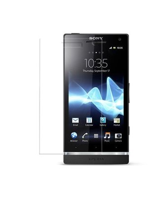 Invisible deluxe screen protector film for the Sony Ericsson Xperia S