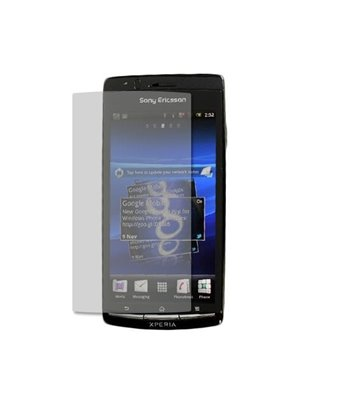 Invisible deluxe screen protector film for the Sony Xperia x12 Arc S
