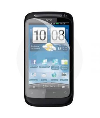 Invisible deluxe screen protector film for the HTC Desire-S
