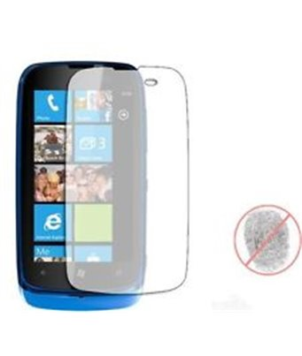 Invisible deluxe screen protector film for the Nokia Lumia 610