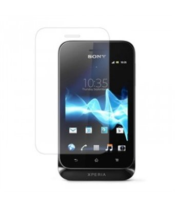 Invisible deluxe screen protector film for the Sony Xperia tipo