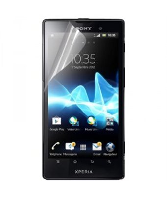 Invisible deluxe screen protector film for the Sony Xperia ion