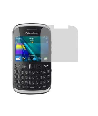 Invisible deluxe screen protector film for the BlackBerry Curve 9320