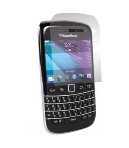Invisible deluxe screen protector film for the BlackBerry Bold 9790