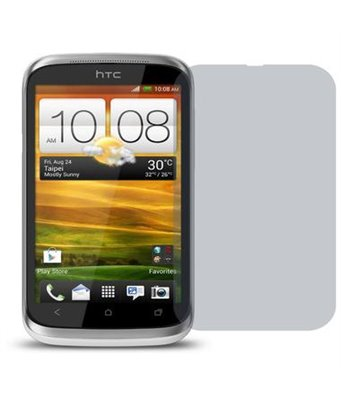 Invisible deluxe screen protector film for the HTC one xl