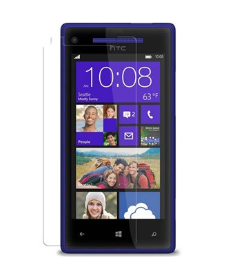 Invisible deluxe screen protector film for the HTC Windows Phone 8S