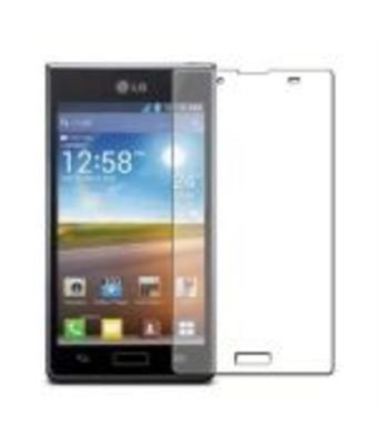 Invisible deluxe screen protector film for the LG Optimus L7