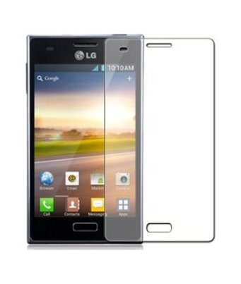 Invisible deluxe screen protector film for the LG Optimus L5
