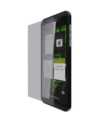 Invisible deluxe screen protector film for the BlackBerry Z10