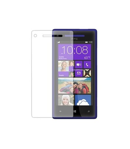 Invisible deluxe screen protector film for the HTC Windows Phone 8X