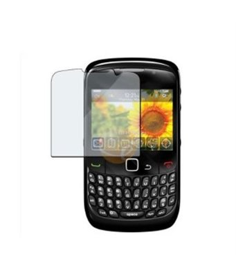 Invisible deluxe screen protector film for the BlackBerry Curve 9300