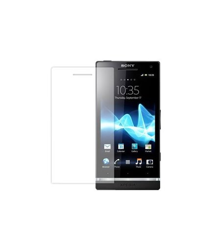 Invisible deluxe screen protector film for the Sony Xperia J