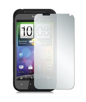 Invisible deluxe screen protector film for the HTC Incredible S