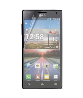 Invisible deluxe screen protector film for the LG Optimus 4X HD