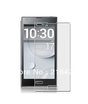 Invisible deluxe screen protector film for the LG Optimus LTE2 F160L