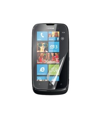 Invisible deluxe screen protector film for the Nokia Lumia 510