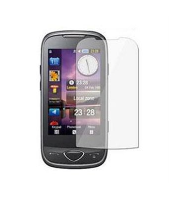 Invisible deluxe screen protector film for the Samsung Player 5 S5560