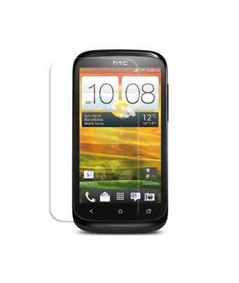 Invisible deluxe screen protector film for the HTC Desire X
