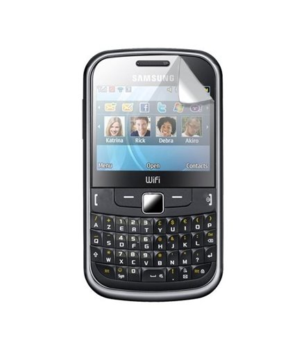Invisible deluxe screen protector film for the Samsung Chat S3350