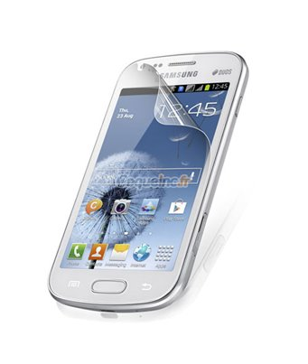 Invisible deluxe screen protector film for the Samsung Galaxy S Duos