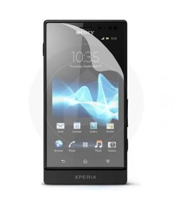 Invisible deluxe screen protector film for the Sony Xperia Sola