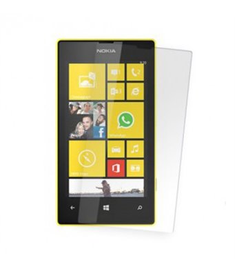 Invisible deluxe screen protector film for the Nokia Lumia 520