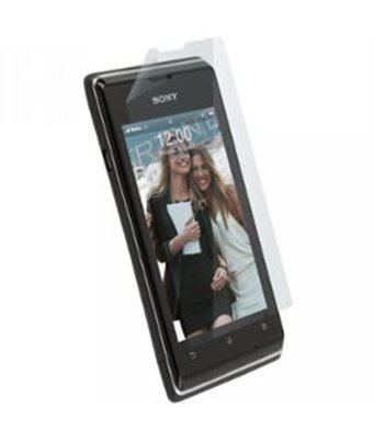Invisible deluxe screen protector film for the Sony Xperia E