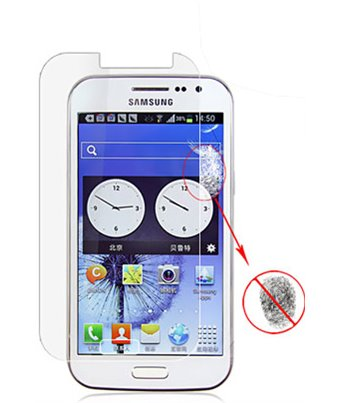 Invisible deluxe screen protector film for the Samsung Galaxy Win